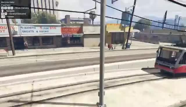 CAN A TRAIN STOP THE TRAIN IN GTA 5? GIFs