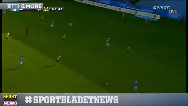 Watch and share Malmö FF - Mjällby AIF 4-1 Allsvenskan 2014 Omgång 26 (Alla Mål) (reddit) GIFs on Gfycat