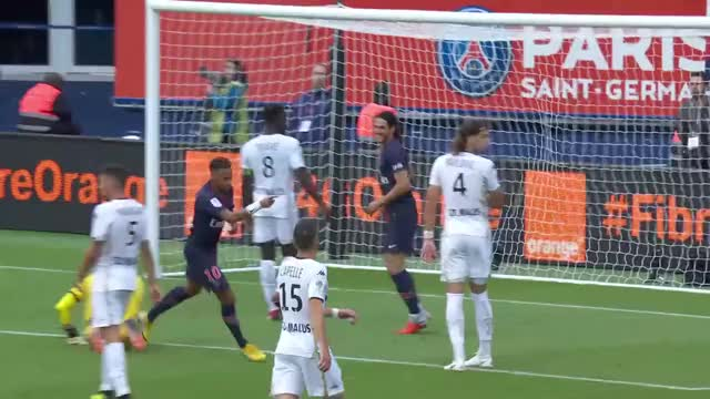 Paris Saint-Germain - Angers SCO ( 3-1 ) - Highlights - (PARIS - SCO) / 2018-19