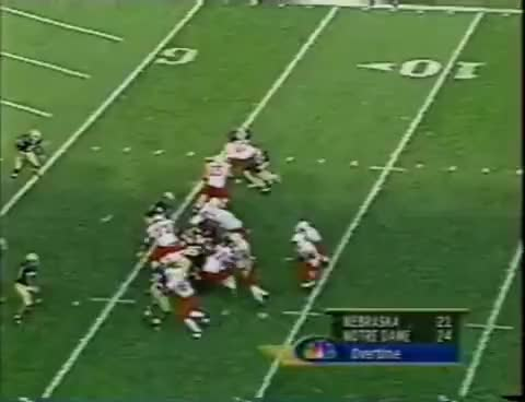 Watch Eric Crouch GIF on Gfycat. Discover more Football, Huskers, Nebraska, Notre Dame, South Bend GIFs on Gfycat