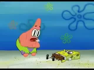 Watch and share Patrick Beats Himself Up GIFs on Gfycat