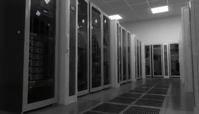 Web Server Room - Electronics Industry Background GIFs