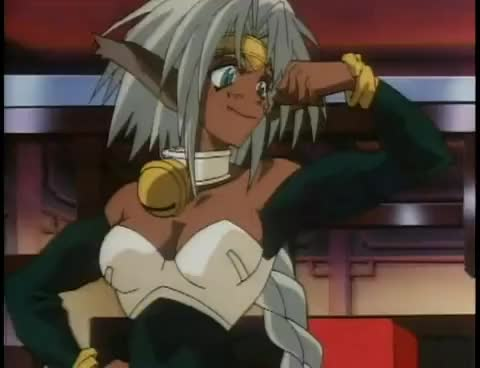 Watch Aisha biceps flex - Outlaw Star anime GIF on Gfycat. Discover more related GIFs on Gfycat