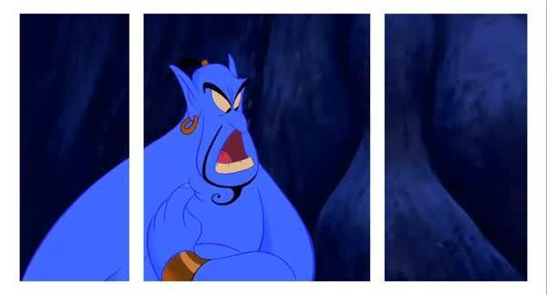 splitdepthgifs, Genie - Aladdin (reddit) GIFs