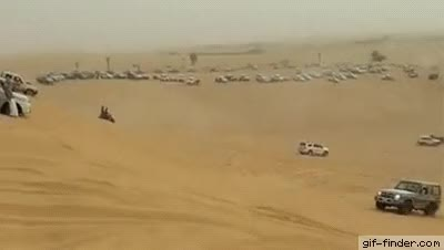Watch and share Car Accident On Desert GIFs on Gfycat