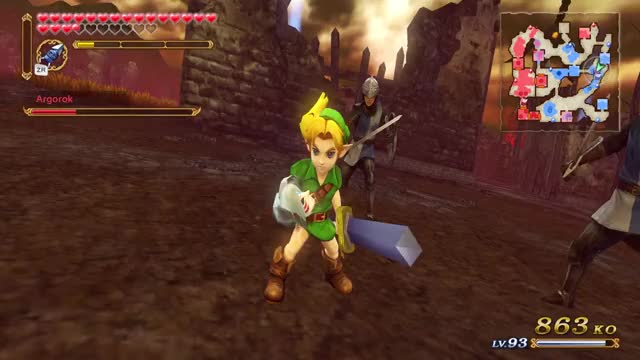Watch and share Hyrule Warriors GIFs and Final Battle GIFs by Fooni Ventes on Gfycat