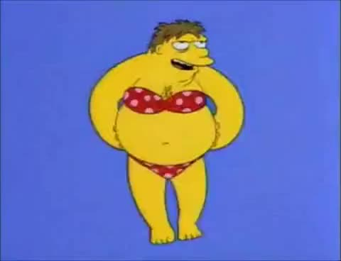 Watch and share Barney Bikini GIFs on Gfycat