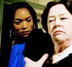 Watch and share Delphine Lalaurie GIFs and Angela Bassett GIFs on Gfycat
