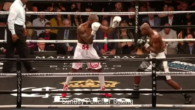 Watch Yordenis Ugas became Errol Spence's IBF mandatory when he TKOed Ray Robinson on Saturday night - Does he have a chance against Spence? GIF by Tom_Cody (@tomcody) on Gfycat. Discover more Boxing, KO, Knockout, Ray Robinson, Yordenis Ugas GIFs on Gfycat