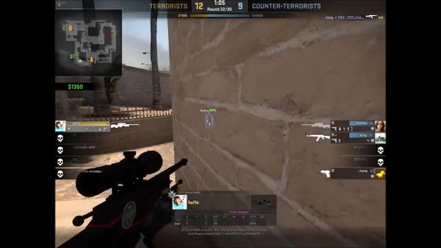 Watch 1v3 clutch GIF by @bennyf on Gfycat. Discover more globaloffensive GIFs on Gfycat