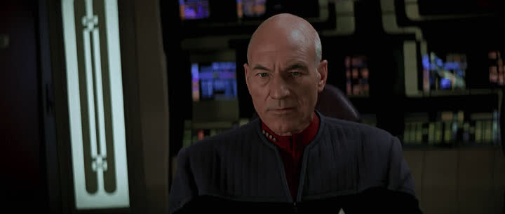 captain picard, first contact, jean-luc picard, patrick stewart, star trek, star trek: first contact, MRW I realized my wife has been power-scrubbing her ass with my loofa GIFs