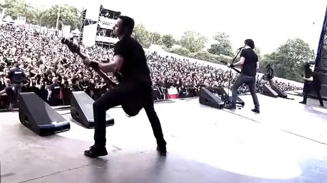Watch and share Hellfest 2013 GIFs and Gojira Live GIFs by Vauxlez on Gfycat