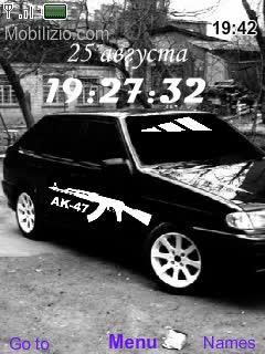 Watch and share Тема Для Nokia Ак-47+Машины+Новое Меню Из Машин GIFs on Gfycat
