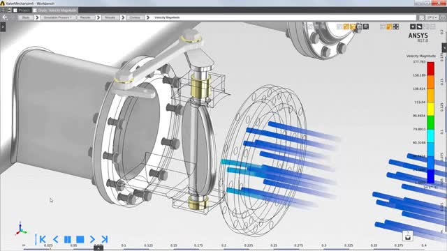 Watch and share ANSYS 18 Fluid Dynamics - CFD Simulation For Every Engineer GIFs on Gfycat