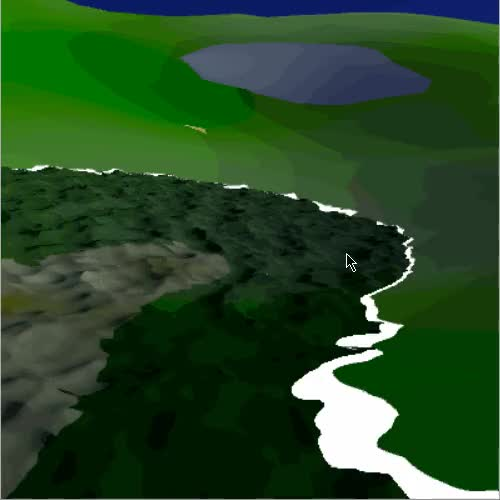 Watch and share Procedural Planet And Water (using No Textures) GIFs by pastrami_panda on Gfycat