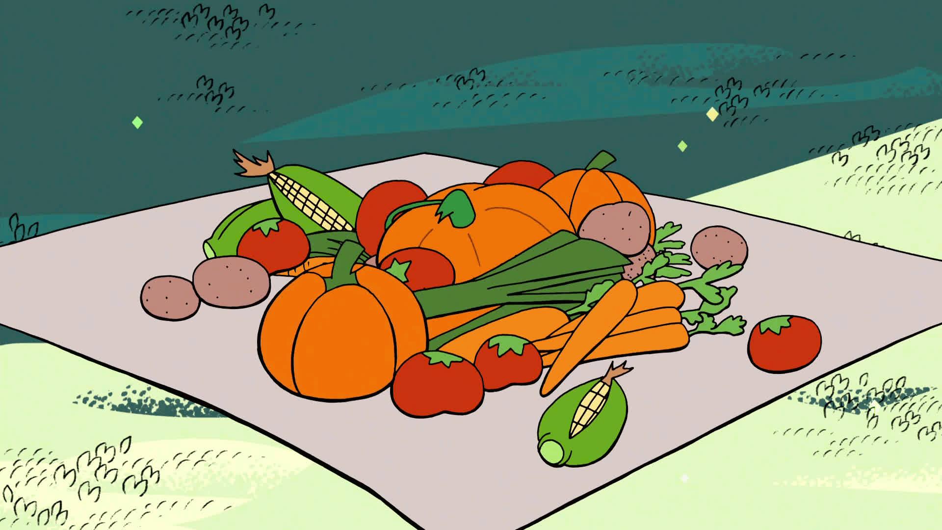 stevenuniverse, Pumpkin Surprise GIFs