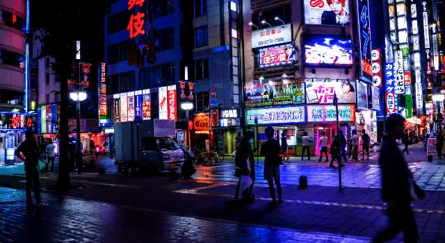 Watch Tokyo Lights GIF by @sore6 on Gfycat. Discover more LED, Neon, Tokyo GIFs on Gfycat