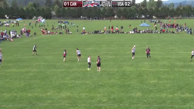 Watch USWNT vs Canada exhibition (2016) GIF by @brummie49 on Gfycat. Discover more disc, frisbee, sport GIFs on Gfycat