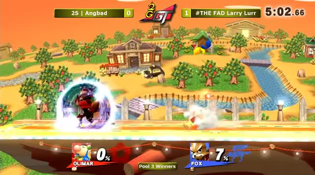 2GGT: ESAM Saga - 2Scoops | Angbad (Olimar) Vs. #THE FAD Larry Lurr (Fox) Pools - Smash Wii U