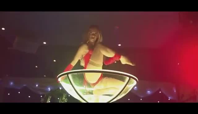 Watch and share Little Red - Red Riding Hood Giant Martini Glass Burlesque Show GIFs on Gfycat