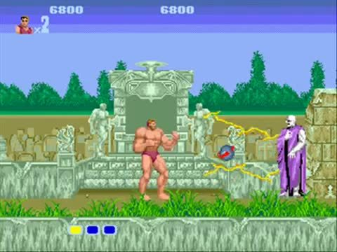 gaminggifs, [Altered Beast] Taking his med (reddit) GIFs