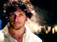 Watch and share Jammf, James Fraser, Jamie, Outlander, Happy GIFs on Gfycat