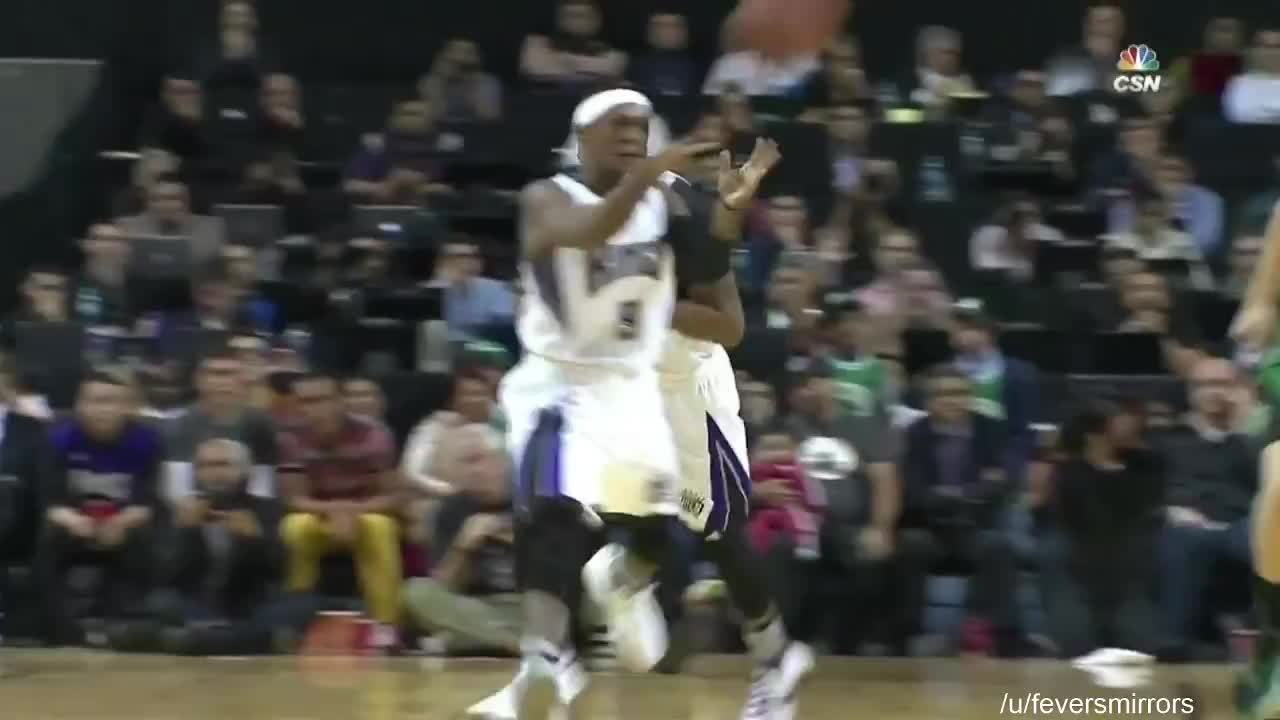 bostonceltics, nba, Isaiah Thomas raises up over Boogie for the steal (reddit) GIFs
