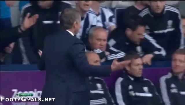 Watch Two opposing Premiere League managers right after a game tying goal in the last minute (reddit) GIF by @spawnofyanni on Gfycat. Discover more Sportsmanship, soccer GIFs on Gfycat