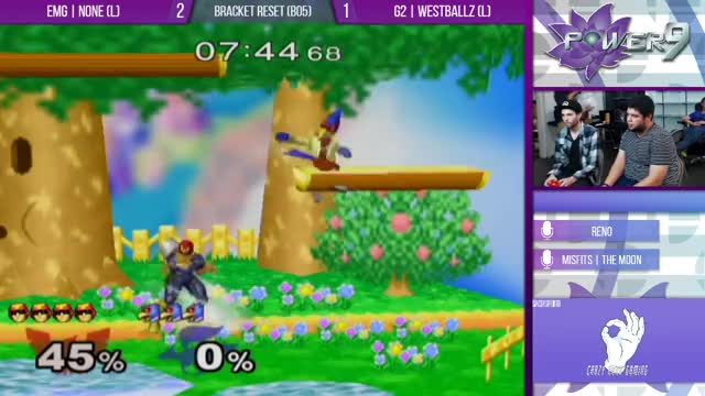 Watch S@P9 #47 - EMG | n0ne (Falcon) VS G2 | Westballz (Falco) Grand Finals GIF on Gfycat. Discover more games, twitch GIFs on Gfycat