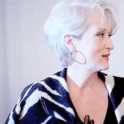 Watch illqueueyou GIF on Gfycat. Discover more actress, dwp, meryl streep, merylstreepedit, miranda priestly, movie, tdwp, the devil wears prada GIFs on Gfycat