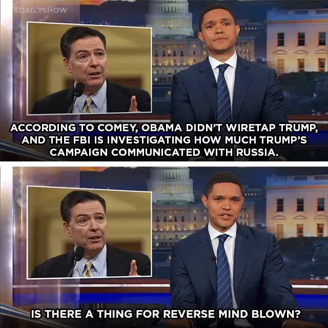 Watch and share James Comey GIFs and Trevor Noah GIFs on Gfycat