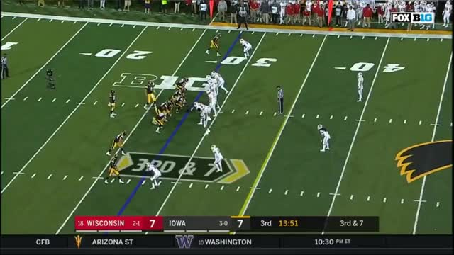 Watch FFFF UW D10 Young CB confused GIF by Seth Fisher (@mgoseth) on Gfycat. Discover more football GIFs on Gfycat