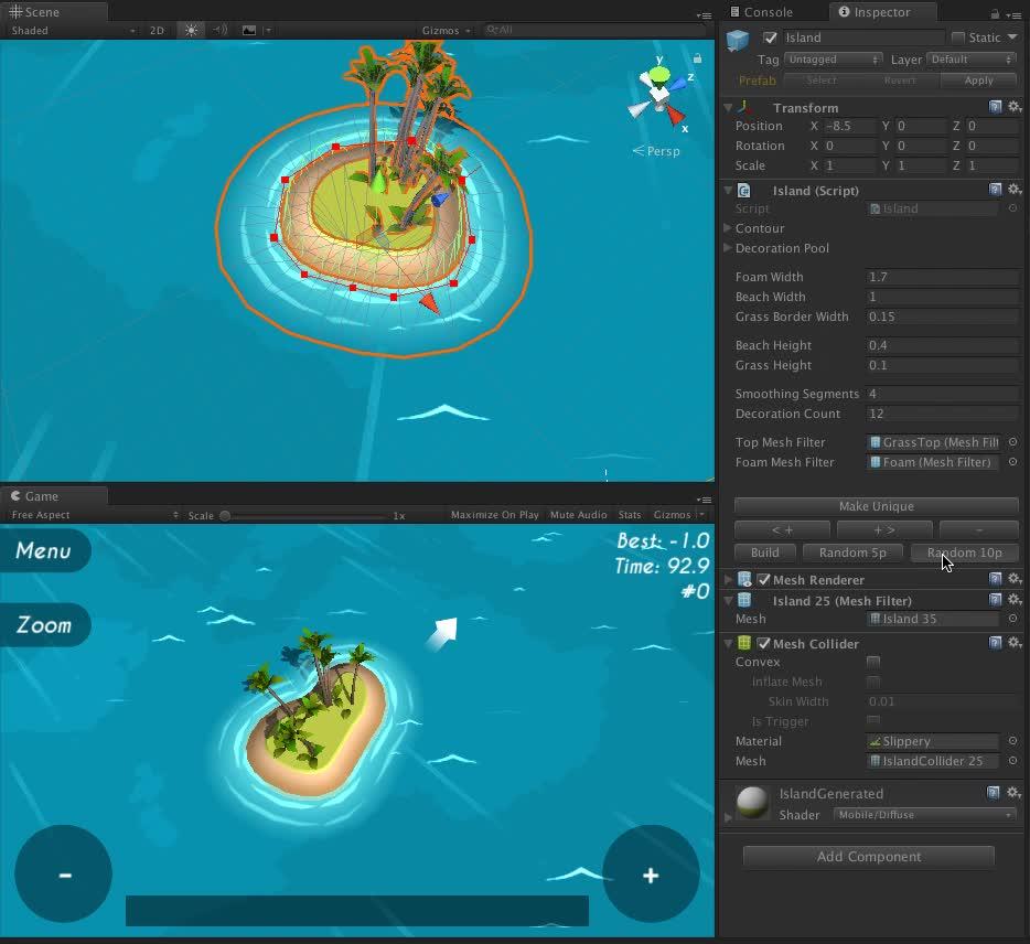 Silly Sailing island generator GIFs