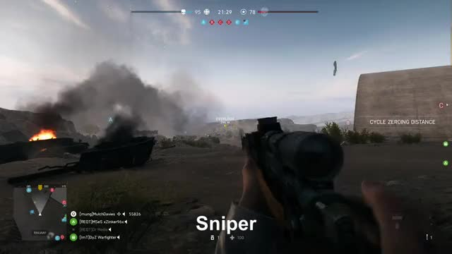 Watch Sniper GIF by Gamer DVR (@xboxdvr) on Gfycat. Discover more BattlefieldV, MulchDavies, xbox, xbox dvr, xbox one GIFs on Gfycat