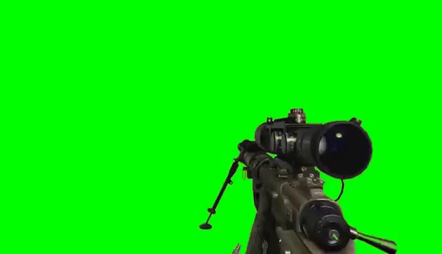 Watch and share MW2 Sniper Quickscope Green Screen (FREE DOWNLOAD) GIFs on Gfycat
