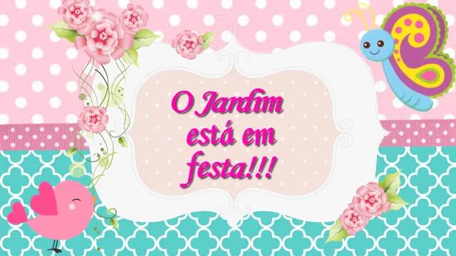 Watch and share (1) Convite Animado Jardim Encantado - YouTube GIFs on Gfycat