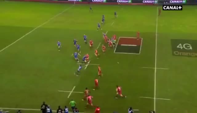 Genoble, RCT, Top14, rugby, RCT Grenoble lamise à mort GIFs