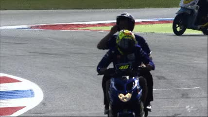 Watch and share Motogp GIFs and Vr46 GIFs on Gfycat