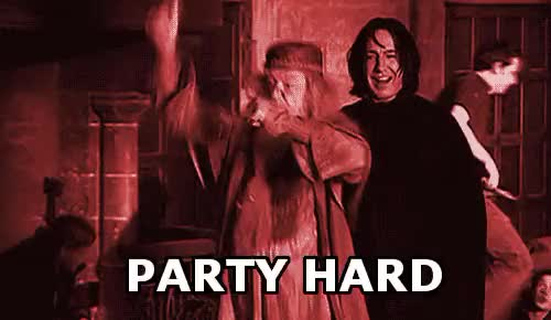Watch this party GIF on Gfycat. Discover more Dumbledore, Harry Potter GIFs on Gfycat