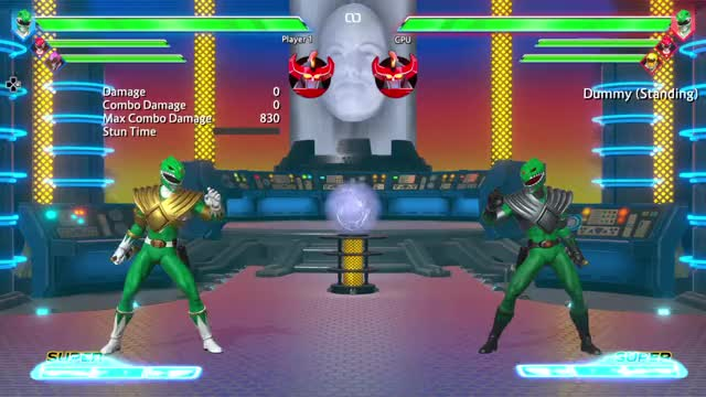 The Power Rangers fighting game is broken, please stop trying to fix