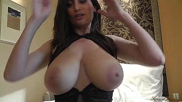 large tit jiggle