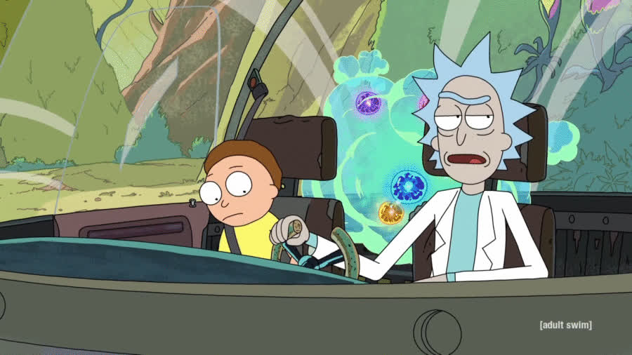 rickandmorty, 'Morty' is my new word for 'shit' because of today's events. GIFs