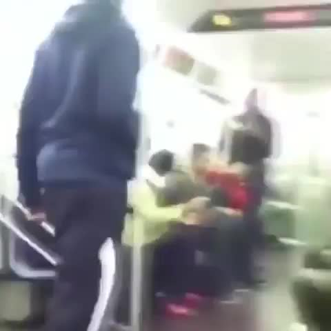 commonvanilla, WCGW if I annoy someone on the subway? GIFs
