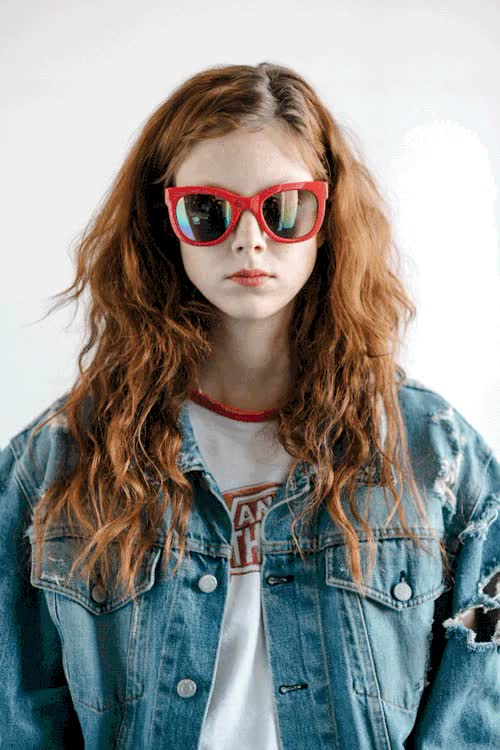 Watch and share Sunglasses GIFs and Fashion GIFs by Elaine Cheng on Gfycat