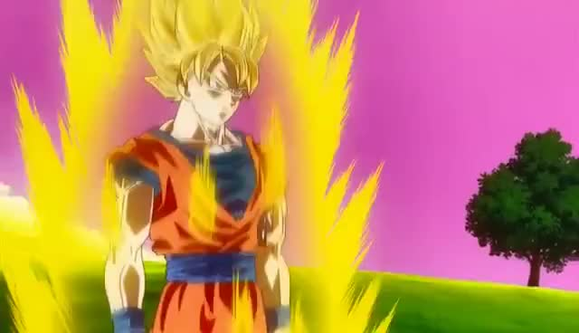Watch and share SSJ3 Goku V.S. Beerus GIFs on Gfycat