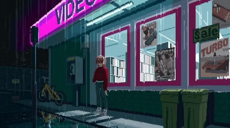 Outrun, 198X by Hi-Bit Studios GIFs
