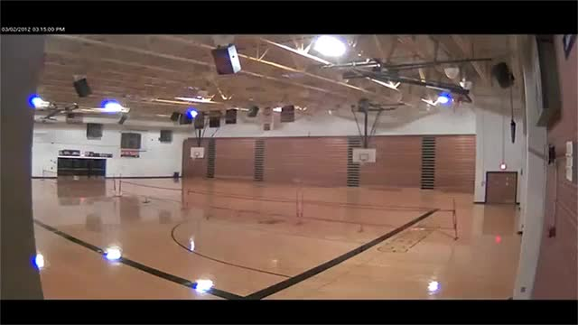 Watch Tornado decimates school gymnasium (reddit) GIF by solateor (@solateor) on Gfycat. Discover more WTF, WeatherGifs, todayiwaslucky GIFs on Gfycat