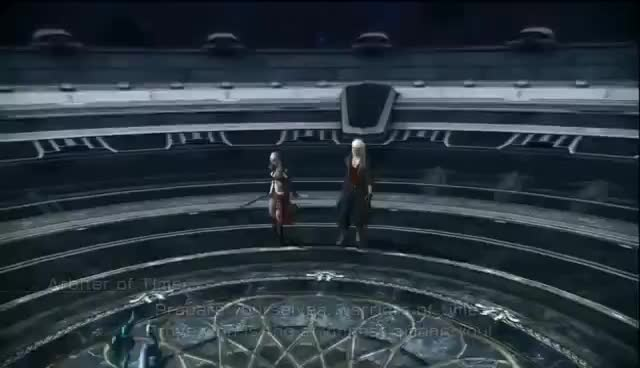 FinalFantasy XIII-2 Snow Dlc Perpetual Battlefield Ep.1 Dat 9,999,999 Health GIFs