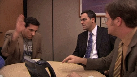 expressions, gaming, gfycatdepot, michael scott, sayings, steve carell, thank you, thanks, the office, MiaQueenOficial (reddit) GIFs