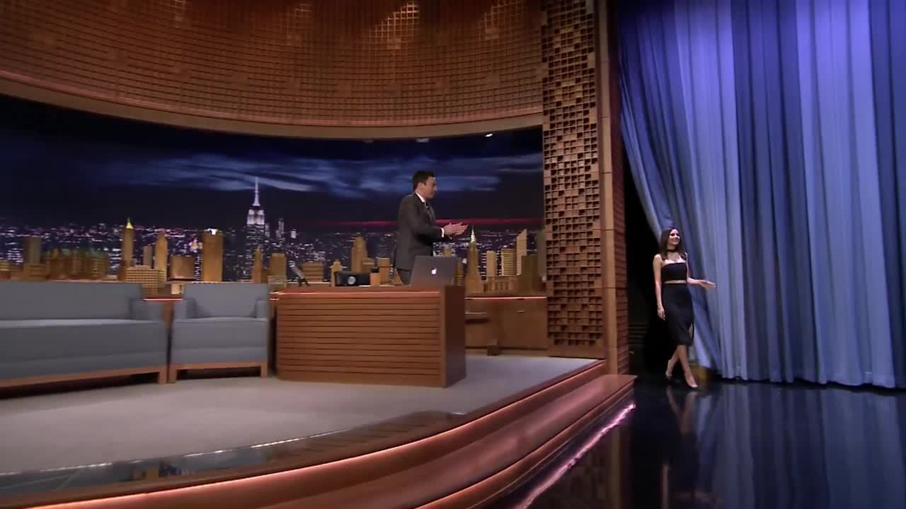 gentlemanbonersgifs, victoriajustice, Shots [gfy] From the Tonight Show. (reddit) GIFs